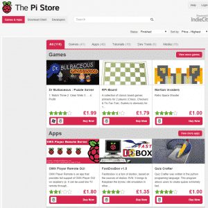 The Pi Store