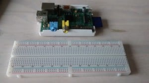 Raspberry-Pi + Breadboard