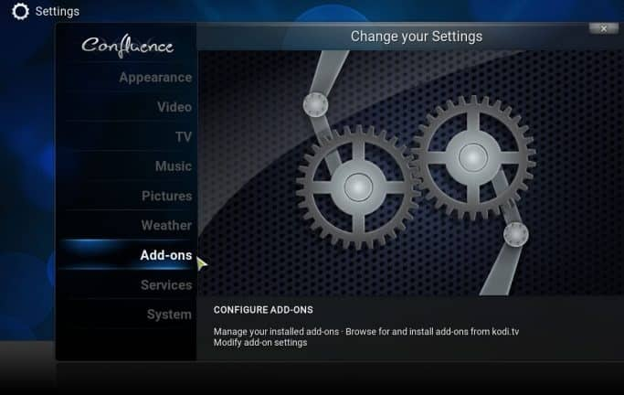 kodi-settings-addons