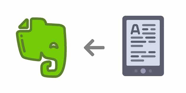 Comment enregistrer ses notes et surlignements Kindle dans Evernote ?