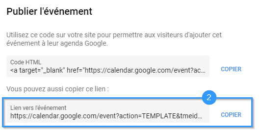 google-agenda-copie-url-template