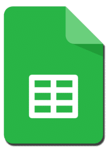 google-sheets-formations