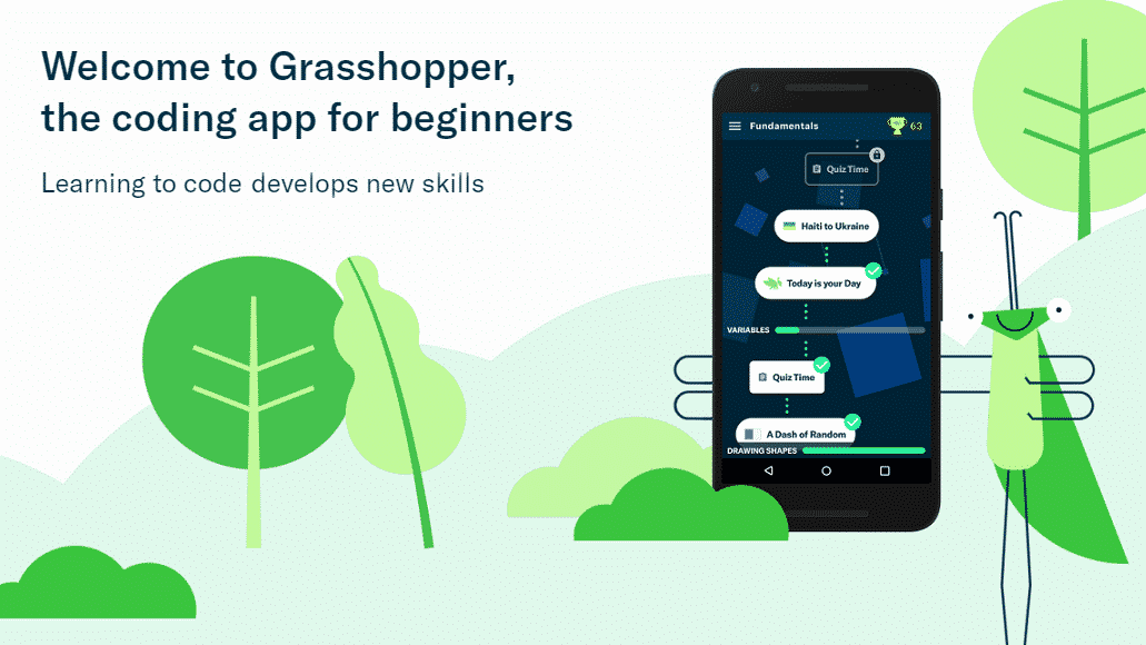 Apprendre à coder en Javascript avec l'application Grasshopper !