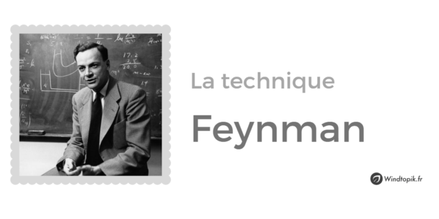 technique-feynman-apprentissage