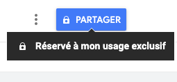 "Bouton ""Partager"""