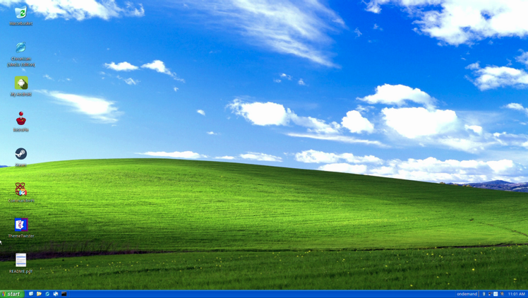 Twister OS - Thème Windows XP
