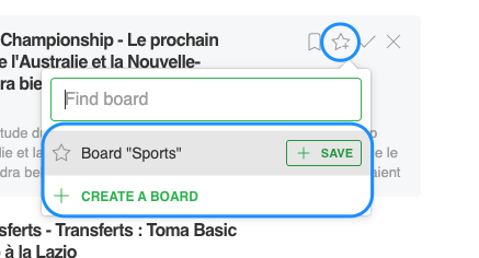 save to board feedly